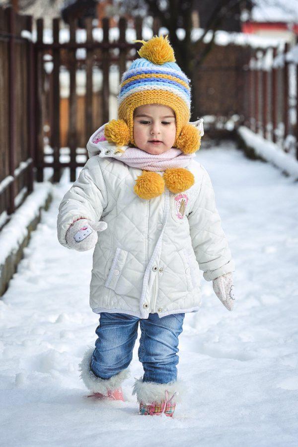 Dijete na snijegu