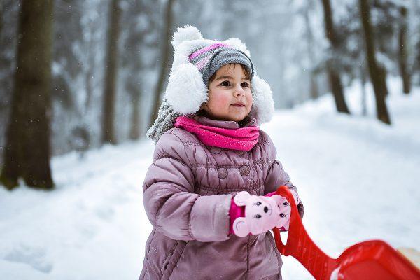 Portret male djevojčice