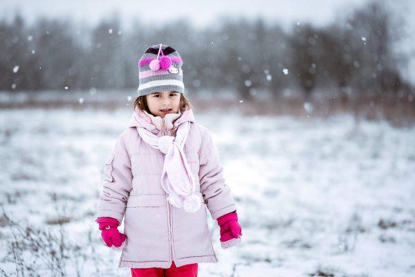 Djeca na snijegu