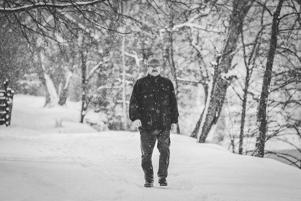 Šetnja po snijegu